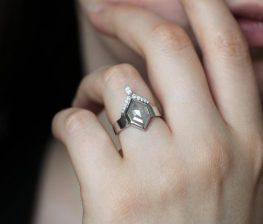 Hexagon-Diamond-Ring-Unique-Diamond-Engagement-Ring-on-offbeat-bride-800x684