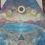 oregon eclipse art