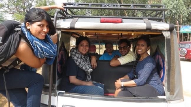 Public Transport, Tourist Fun, Hampi Tempo,