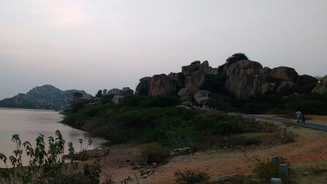 Gowri resort, Hampi Temples, Hampi Ruins, Places to visit in Hampi, Karnataka Tourism, Hippie fun in Hampi, Sanapur Lake