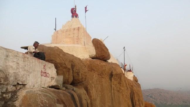 Anjaneya Temple (Hanuman Temple) Hampi, Hampi Temples on Hippie side