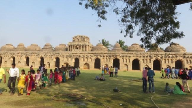School Picnic at Lotus Mahal Hampi, Elephant Stable, Hampi Ruins, Places to visit in Hampi