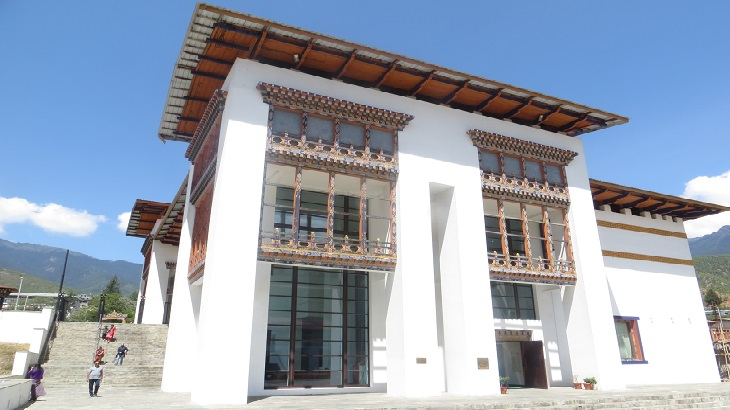 Bhutan Textile Museum - Located next to immigration office in Thimphu, National Textile Museum, Bhutan Museums, Places to visit in Thimphu, Things to do in Bhutan, Bhutan Tourism