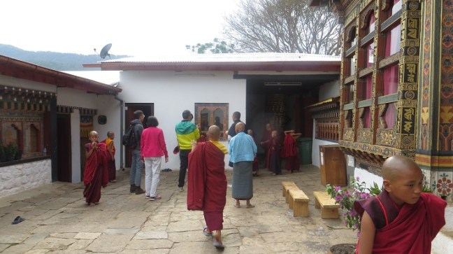 Walk through Lobesa village to reach Chimi Lhakhang, Bhutan, Places to visit in Bhutan, Things to do in Punakha, Bhutan temples, Phallus, Divine Madman of Bhutan. Bhutan Tourism