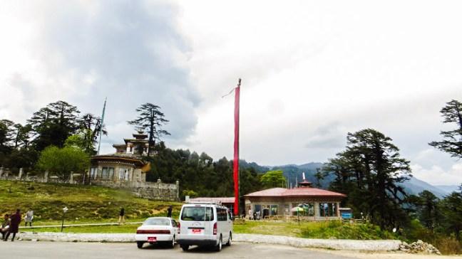 Druk Wangyal Lhakhang at Dochla Pass, Bhutan, Dochula Pass, Thimphu, Bhutan, 108 stupas, Dochula Pass Chorten, Druk Wangyal Khang Zhang Chortens, Druk Wangyal Lhakhang, Thimphu to Punakha, Places to visit in Bhutan, Things to do in Bhutan
