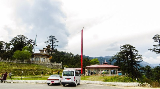 Druk Wangyal Lhakhang at Dochla Pass, Bhutan, Dochula Pass, Thimphu, Bhutan, 108 stupas, Dochula Pass Chorten, Druk Wangyal Khang Zhang Chortens, Druk Wangyal Lhakhang, Thimphu to Punakha, Places to visit in Bhutan, Things to do in Bhutan