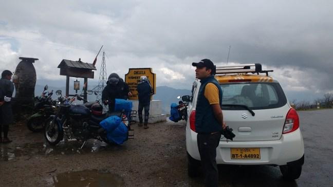 Motorbike Gang at Chele La Pass, Cheli La Pass, Beautiful Bhutan, Places to visit in Bhutan, Bhutan Tourism, Dantak Project Bhutan