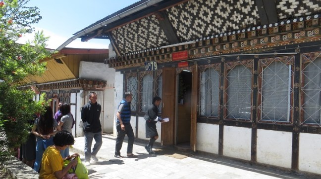 Thumphu Permit Office for Bhutan Entry Permit for Indian Tourists  & Restricted Area Permit Extension at Thimphu Immigration Office. There is no fee for Bhutan Permit Extension