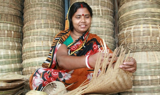 Biva Rani runs bamboo workshop with basic loan assistance from Grameen Bank: Banker to the Poor Book Summary & Review