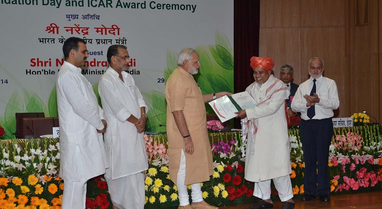 किसान पुरस्कार' - ICAR award ceremony to reward innovation in agriculture and allied fields - Farmer awards in India