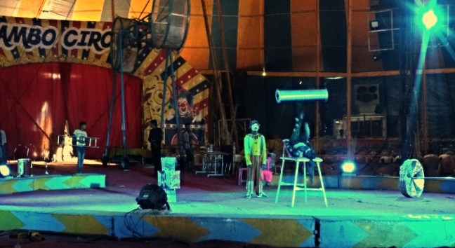 Clowns of Rambo Circus Bangalore: Not very impressive