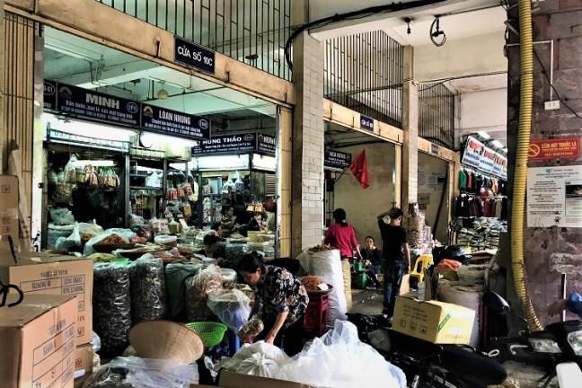 Dong Xuan Market at Hanoi Vietnam