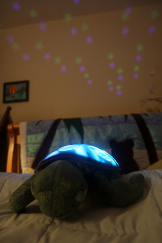 Cloud B Twilight Constellation Night Light, Sea Turtle