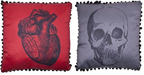 Sourpuss Anatomical Skull and Heart Set