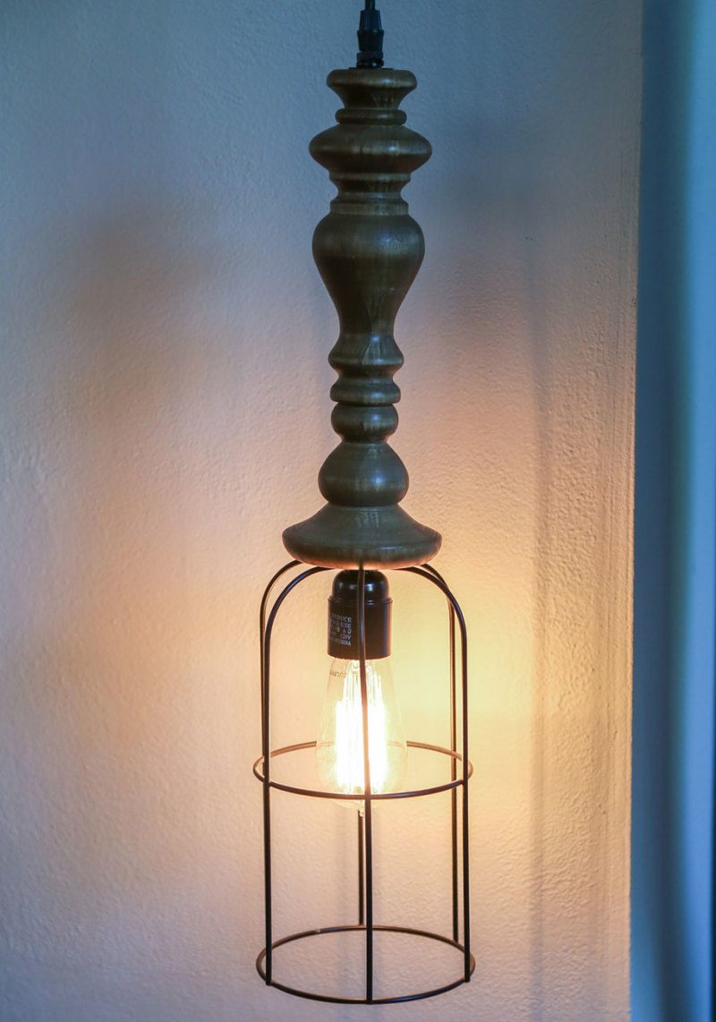 Or get industrial gothic with your lighting, like the Loft Your Spirits Pendant Lamp.