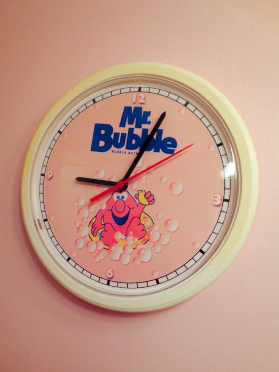 It's Mr. Bubble time!