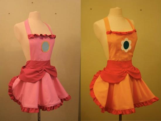 Princess Peach and Princess Daisy