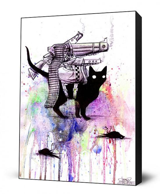 Super Cat Large Art Block, on sale for $79.99