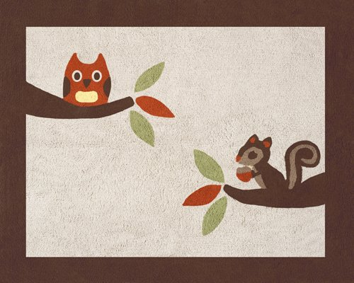 Forest Friends Accent Rug -- $39.99