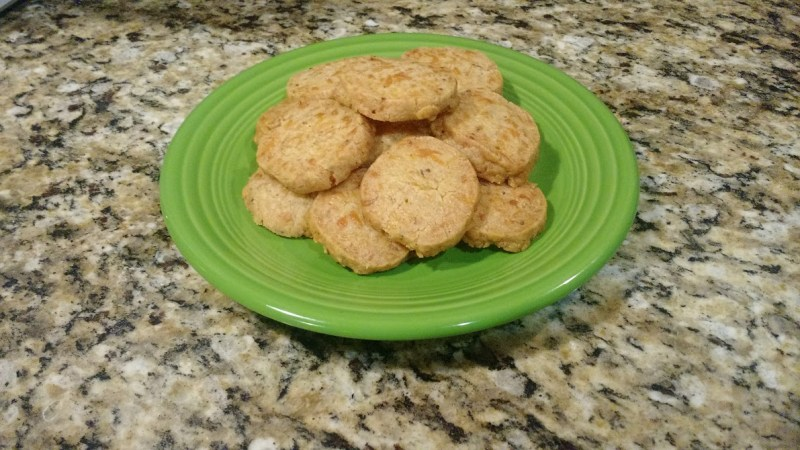 savory cheddar cheese shortbread crackers