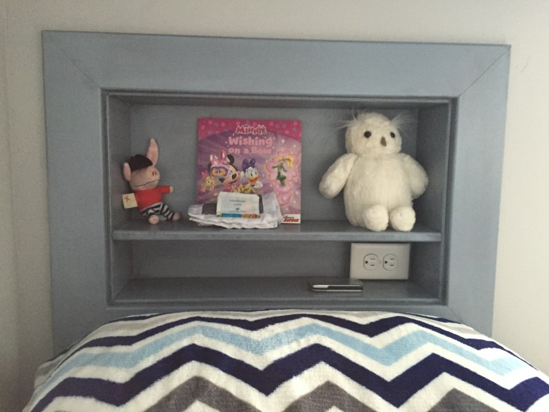 bunk bed cubby