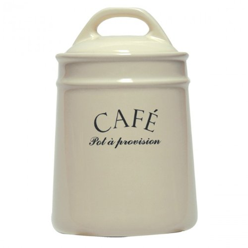 French-inspired Coffee Jar Canister
