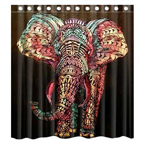 U-nique elephant shower curtain