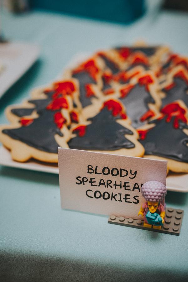 Bloody Spearhead Cookies