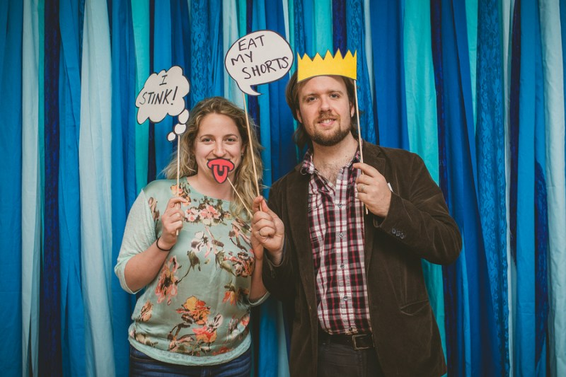 simpsons photo booth props 3