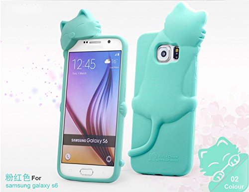 Lovely Kiki Cat cell phone case for Samsung Galaxy S6