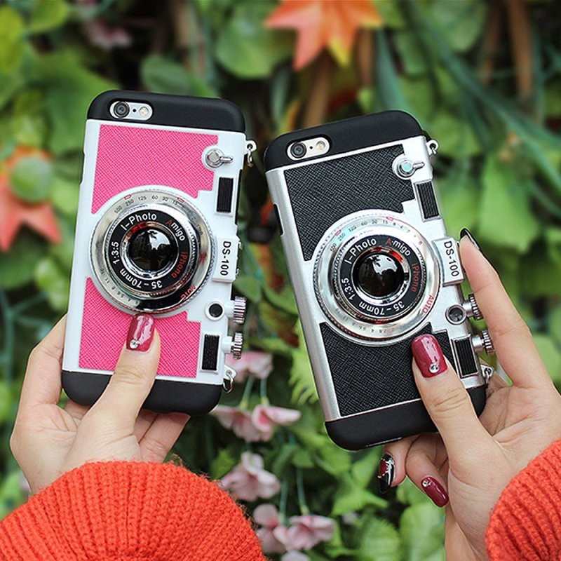 3D camera case for iPhones. Because we all know what our phones are REALLY for.