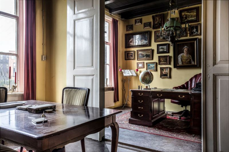 This historical Dutch spooky house for sale is straight out of our haunted dreams