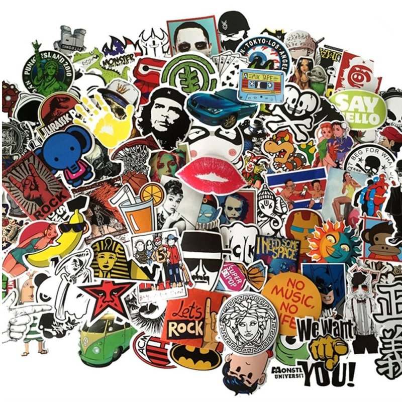 Where can I find more subversive and cool stickers for scrapbooking?