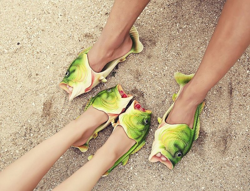 I might just need some of these ultra weird shoes and sandals