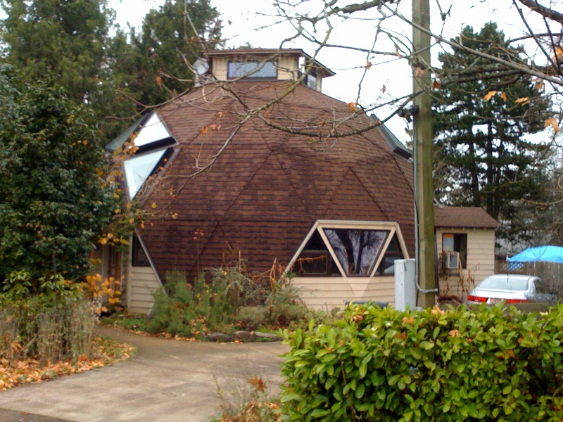 Our experience living in and restoring a Buckminster Fuller geodesic dome