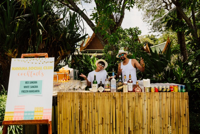 Leech some tropical heat from this super inspiring birthday party in Thailand