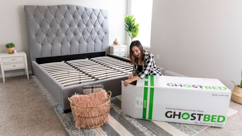 Shopping for the right mattress in a box from GhostBed