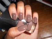 plaid nail art design tutorial