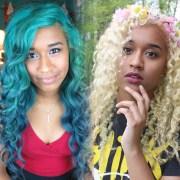 fade blue hair dye