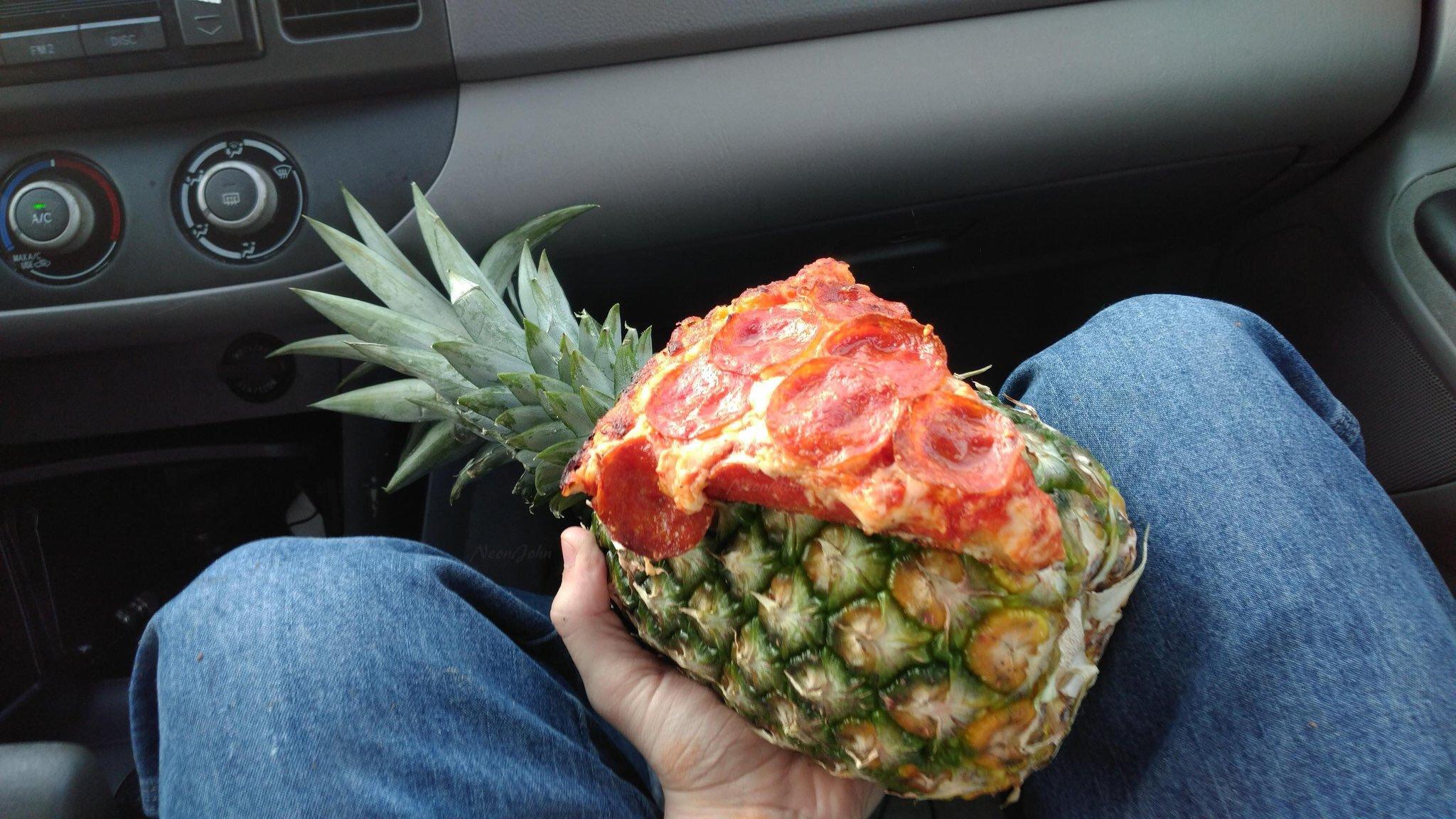 En Defense of Pineapple Pizza (¯\_(ツ)_/¯)