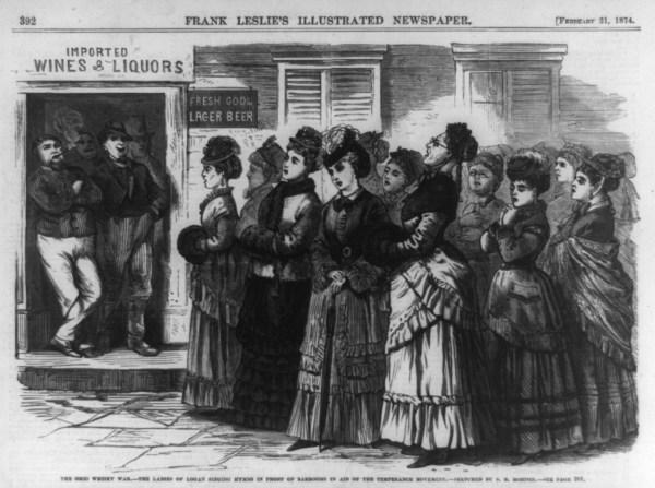 Women Temperance Movement 1800s