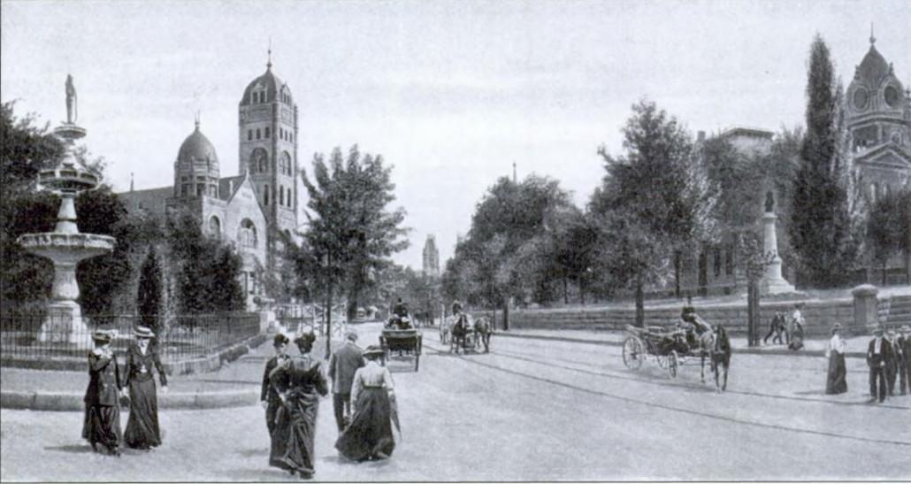 Fountain Square 1905