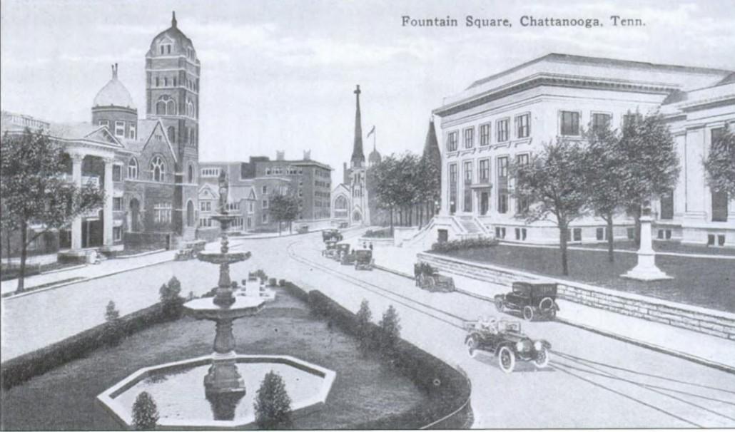 Fountain Square 1912