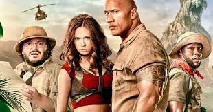 New Jumanji Game featuring the Rock