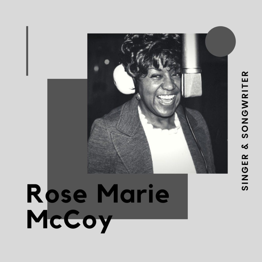 All That's Black: Rose Marie McCoy
