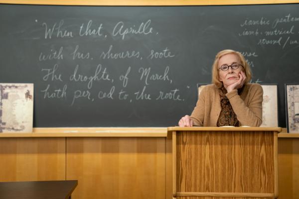 Holland Taylor as Professor Joan Hambling - courtesy of Newsweek