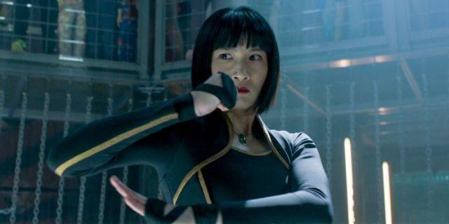 Meng'er Zhang as Xialing  in Shang-Chi