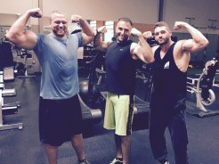 Training with friends