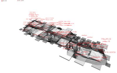 information-density transformation of Venturis famous diagram of the strip