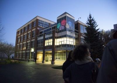LED Facade Northeastern